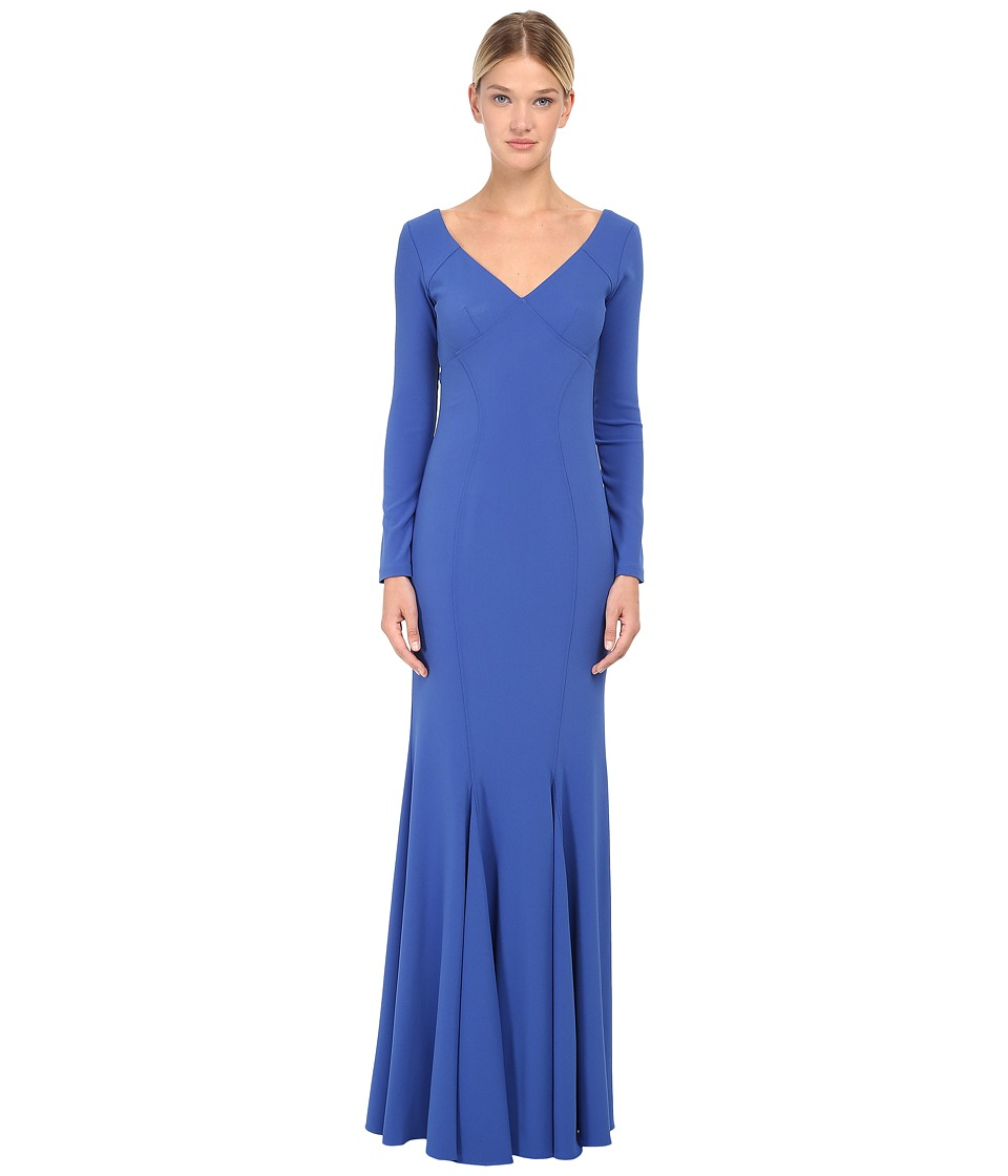 ZAC Zac Posen - ZP-02-7050-22 (Celestial Blue) Women's Dress
