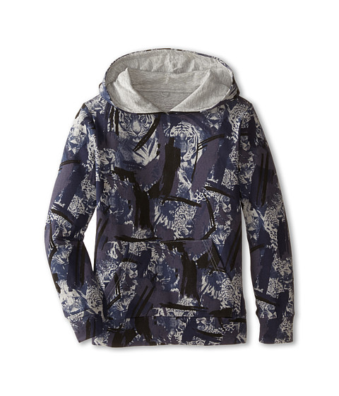 Stella McCartney Kids - Austin Jungle Print Hooded Sweater (Toddler/Little Kids/Big Kids) (Blue) Boy