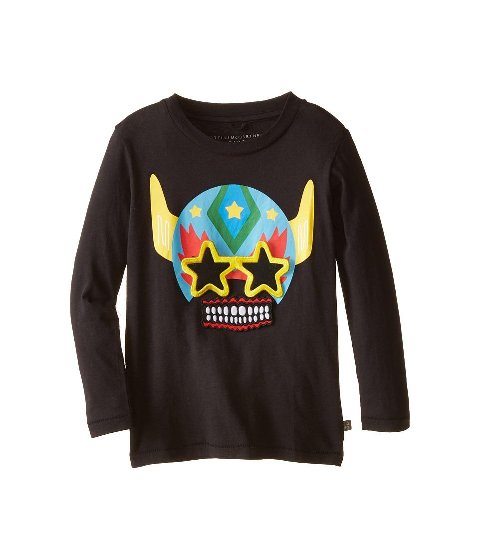 Stella McCartney Kids - Barley Robot Velcro T-Shirt (Toddler/Little Kids/Big Kids) (Black) Boy