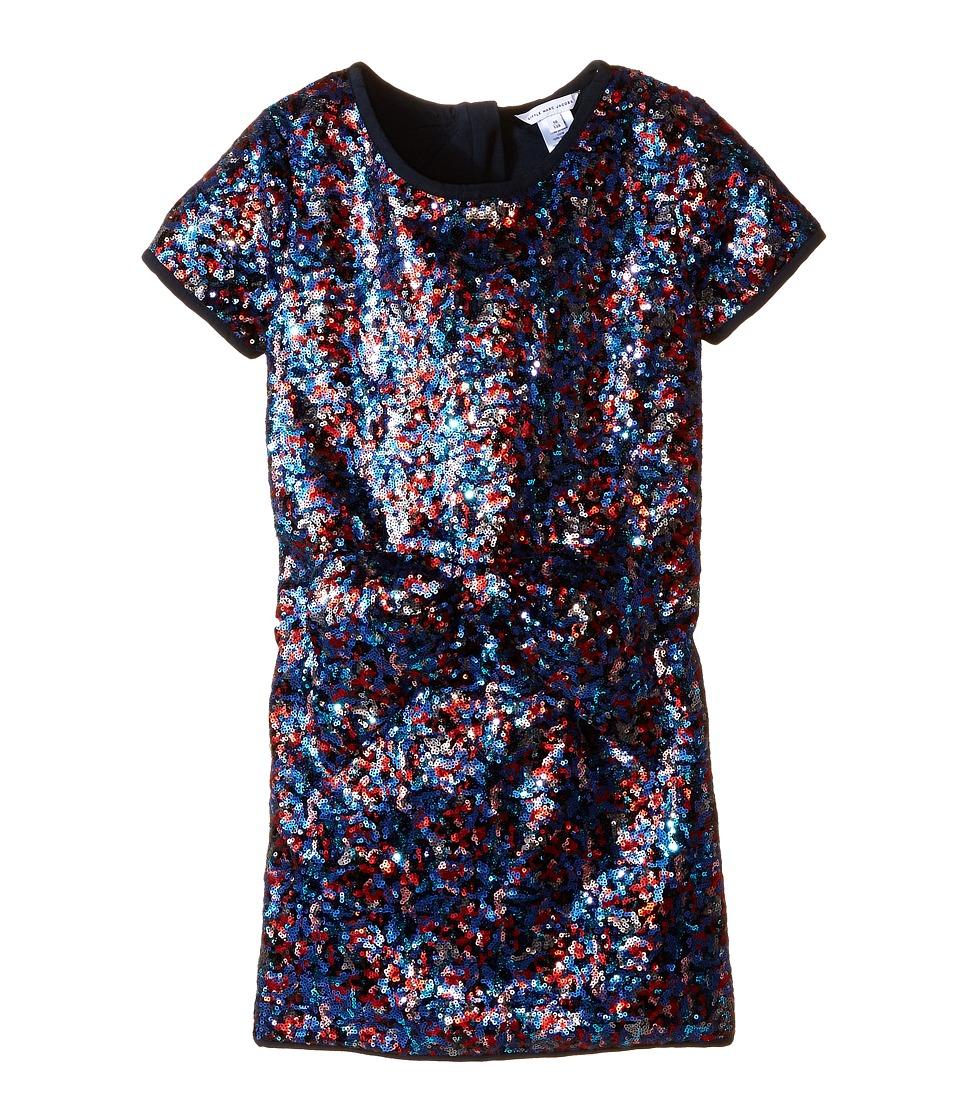 Little Marc Jacobs - Sequin Party Time Dress (Little Kids/Big Kids) (Multi) Girl's Dress