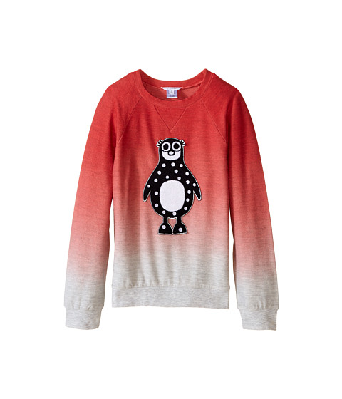 Little Marc Jacobs - Fleece Sweatshirt with Animal (Little Kids/Big Kids) (Ice Pink) Girl