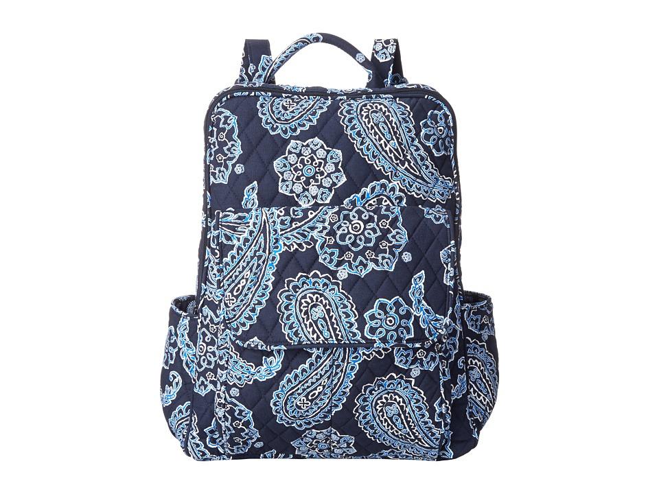 Vera Bradley - Ultimate Backpack (Blue Bandana) Backpack Bags