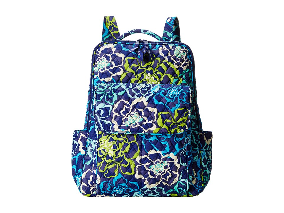 Vera Bradley - Ultimate Backpack (Katalina Blues) Backpack Bags