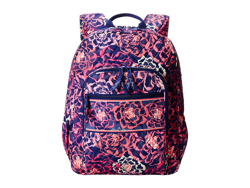Vera Bradley - Campus Backpack (Katalina Pink) Backpack Bags