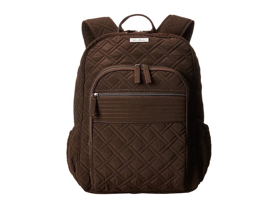 Vera Bradley - Campus Backpack (Espresso) Backpack Bags