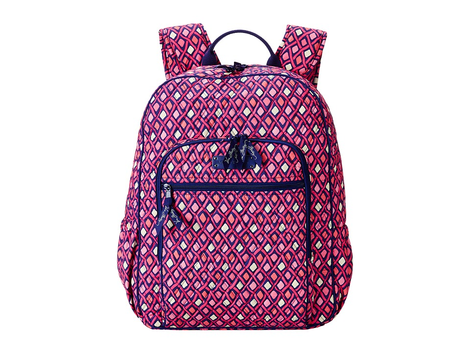 Vera Bradley - Campus Backpack (Katalina Pink Diamonds) Backpack Bags