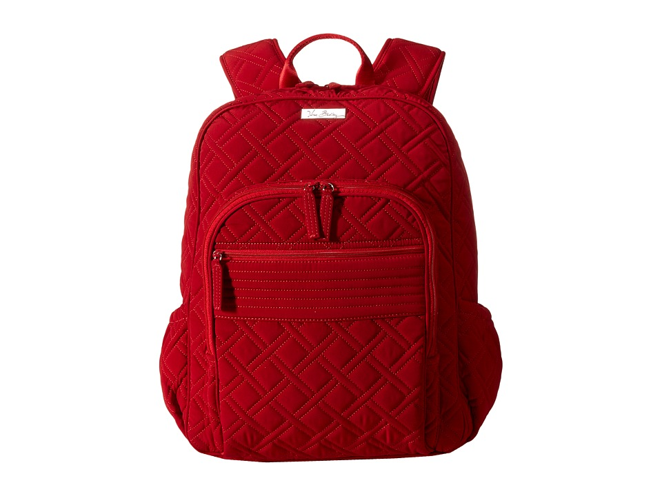 Vera Bradley - Campus Backpack (Tango Red) Backpack Bags