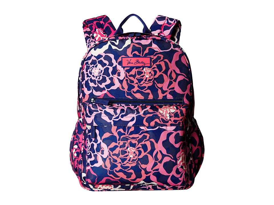 Vera Bradley - Lighten Up Just Right Backpack (Katalina Pink) Backpack Bags