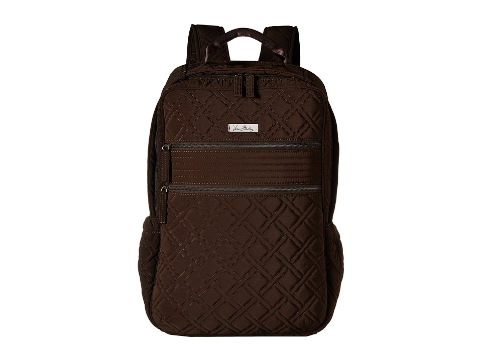 Vera Bradley - Tech Backpack (Espresso) Backpack Bags