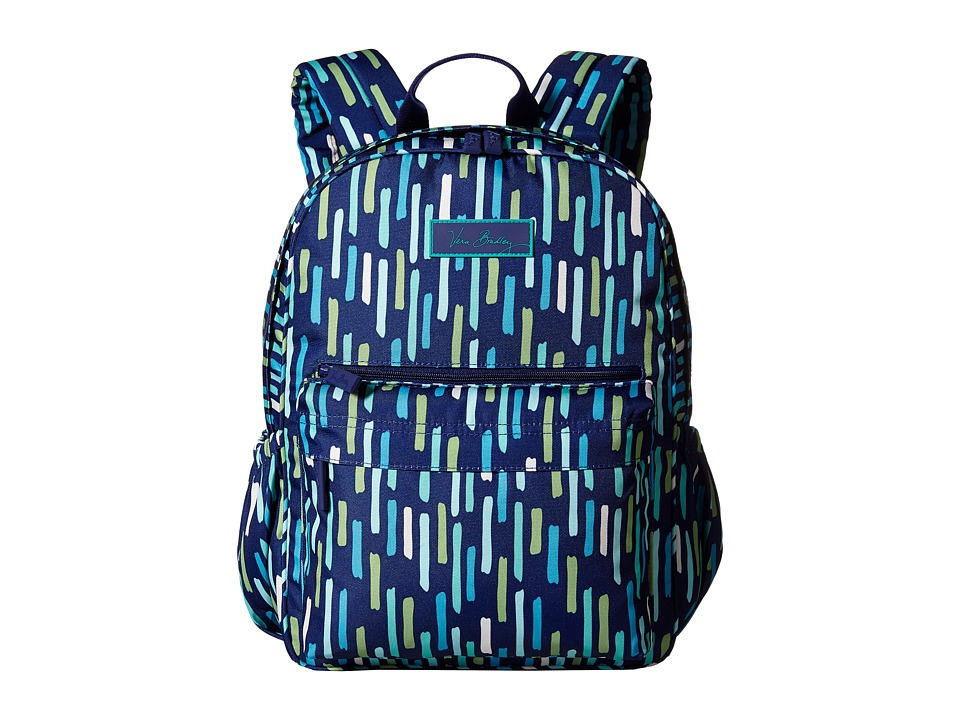 Vera Bradley - Lighten Up Just Right Backpack (Katalina Showers) Backpack Bags