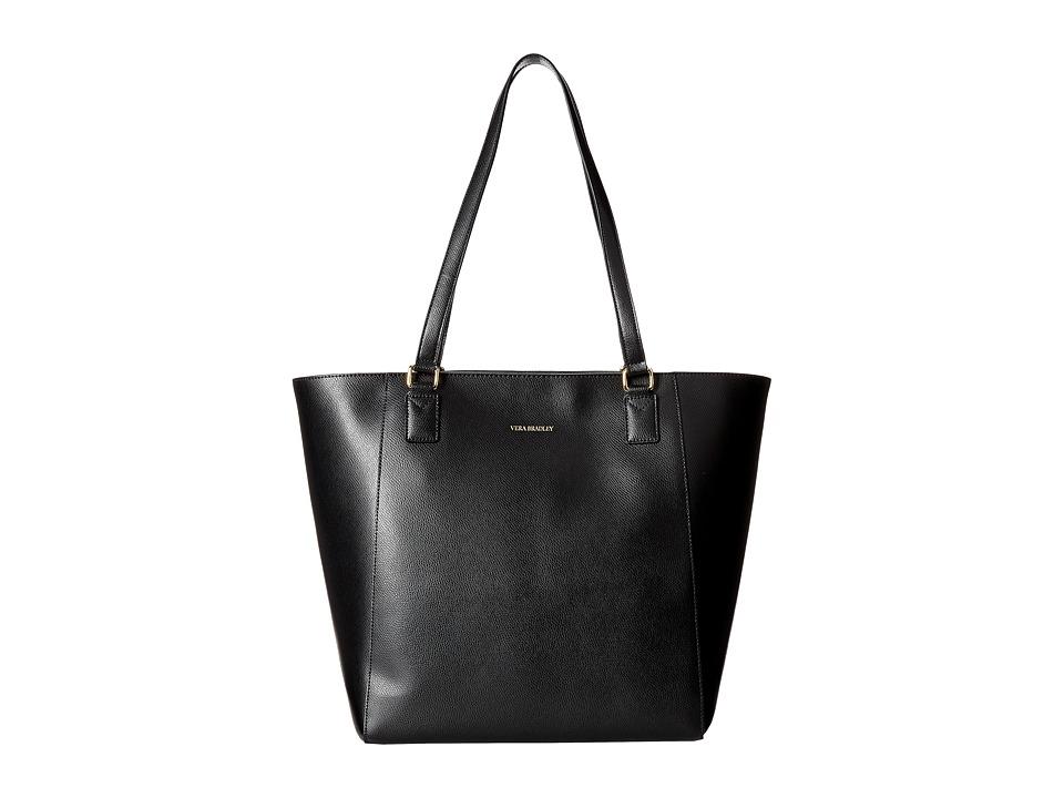 Vera Bradley - Ella Tote (Black 1) Tote Handbags