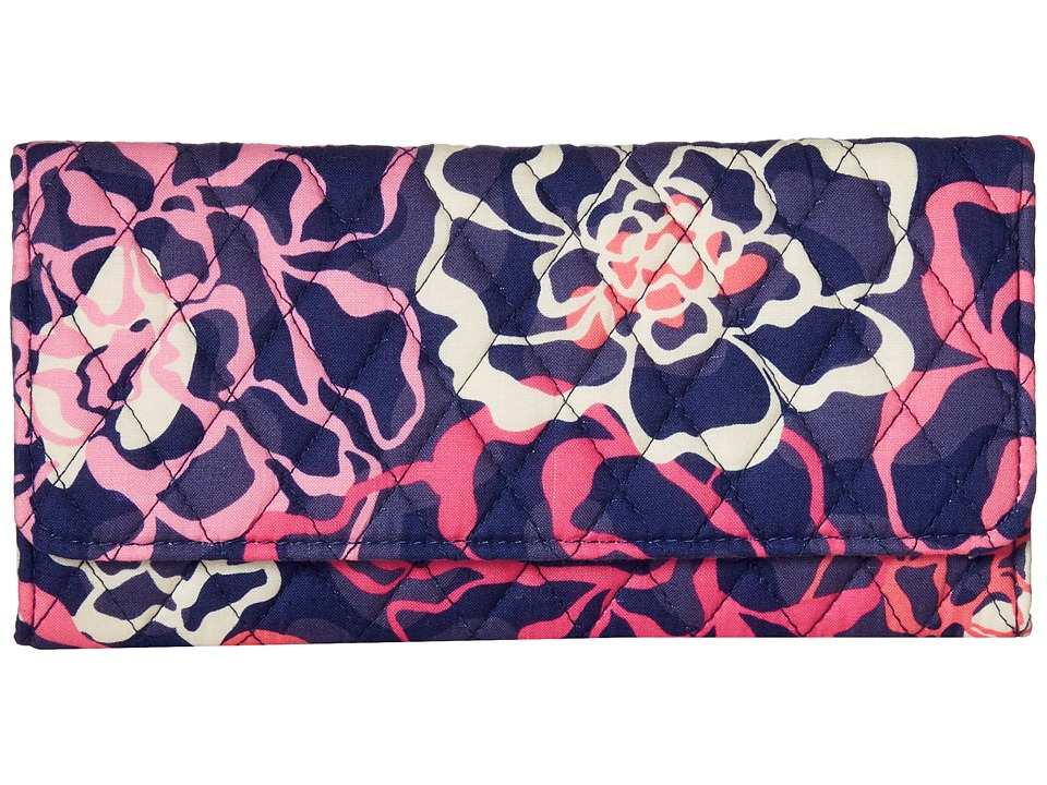 Vera Bradley - Trifold Wallet (Katalina Pink) Wallet Handbags