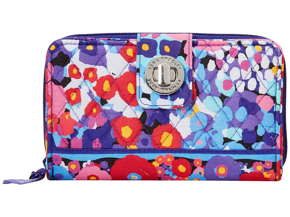 Vera Bradley - Turn Lock Wallet (Impressionista) Clutch Handbags