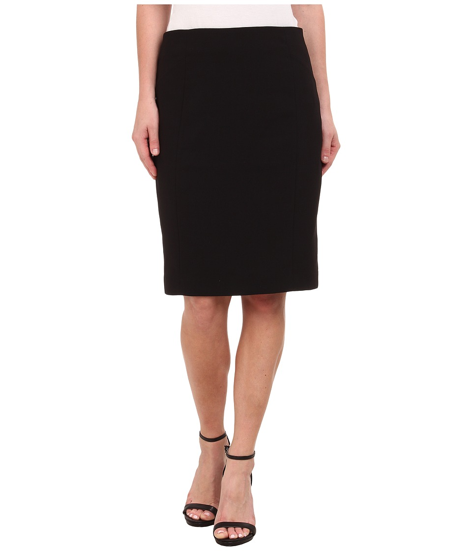 Adrianna Papell - Kari Slim Pencil Skirt (Black) Women's Skirt