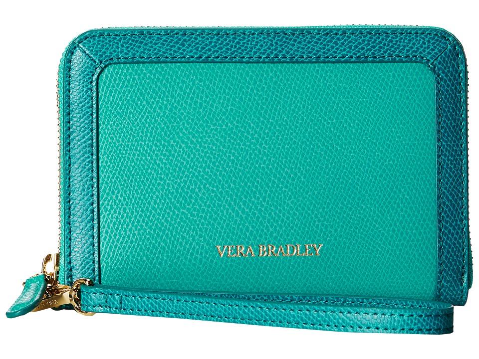 Vera Bradley - Grab Go Wristlet (Teal) Wristlet Handbags