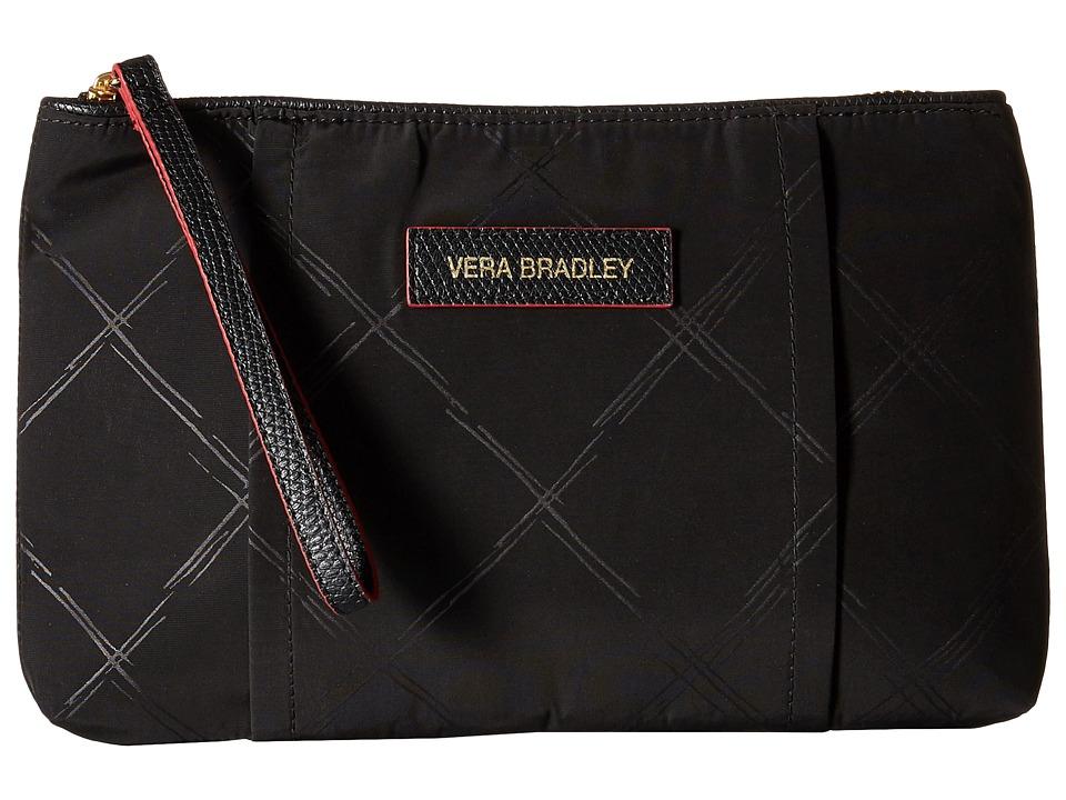 Vera Bradley - Preppy Poly Wristlet (Black) Wristlet Handbags