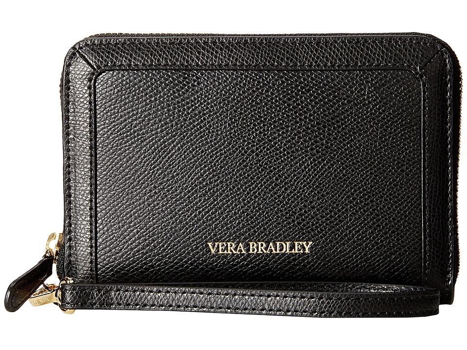 Vera Bradley - Grab Go Wristlet (Black) Wristlet Handbags