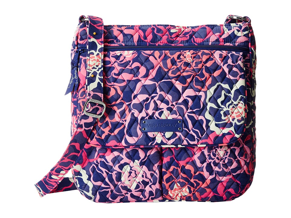 Vera Bradley - Double Zip Mailbag (Katalina Pink) Cross Body Handbags