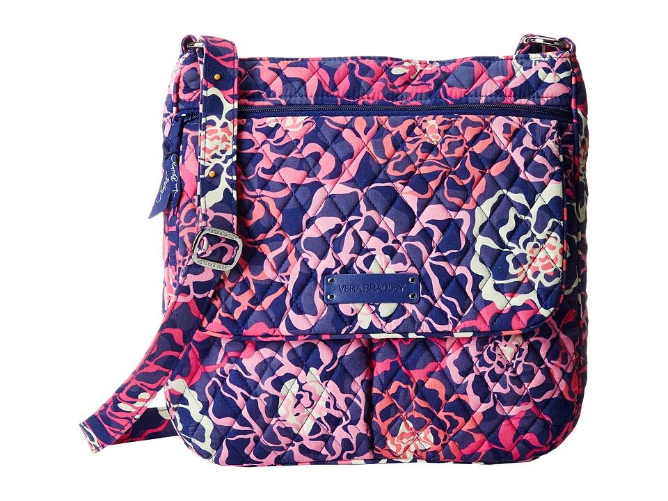 Vera Bradley - Double Zip Mailbag (Katalina Pink) Cross Body Handbags