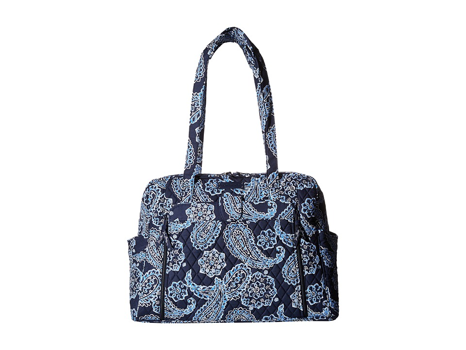 Vera Bradley - Large Stroll Around Baby Bag (Blue Bandana) Bags