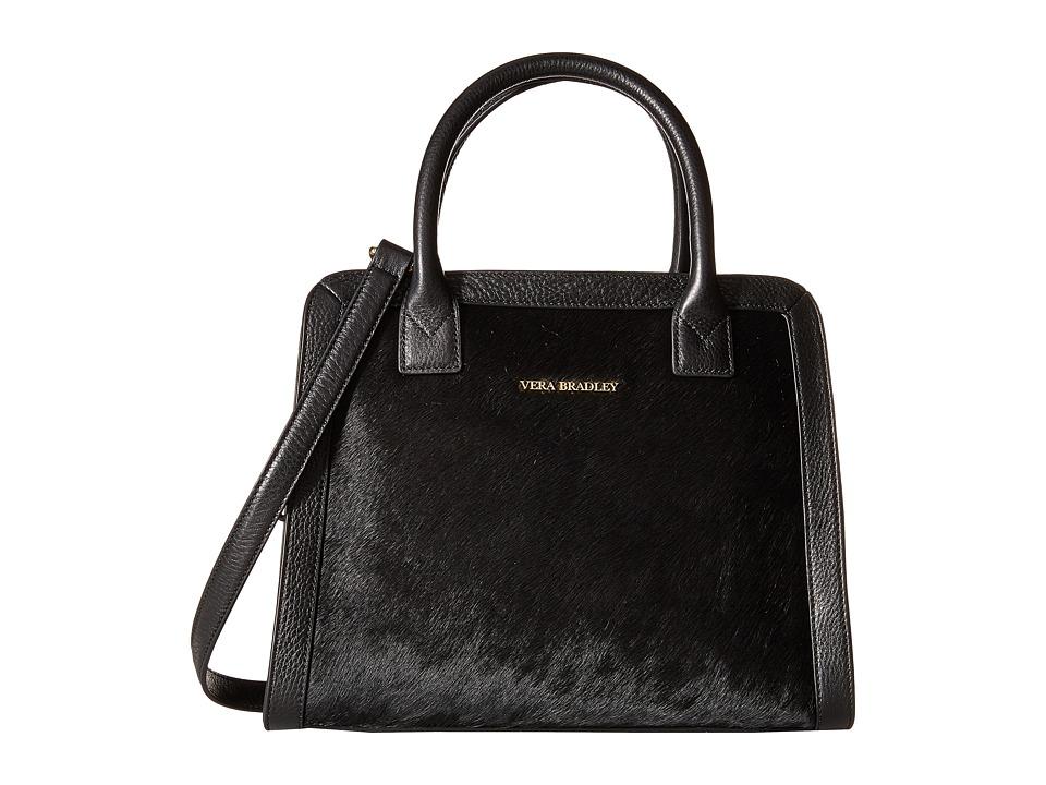 Vera Bradley - Natalie Satchel (Black) Satchel Handbags