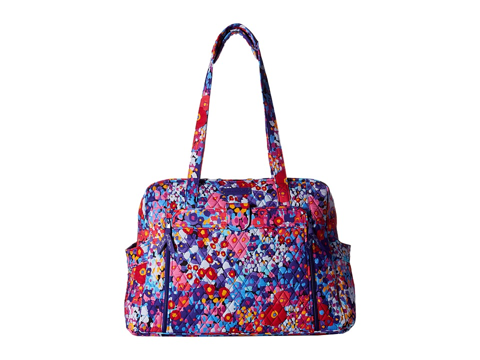 Vera Bradley - Large Stroll Around Baby Bag (Impressionista) Bags