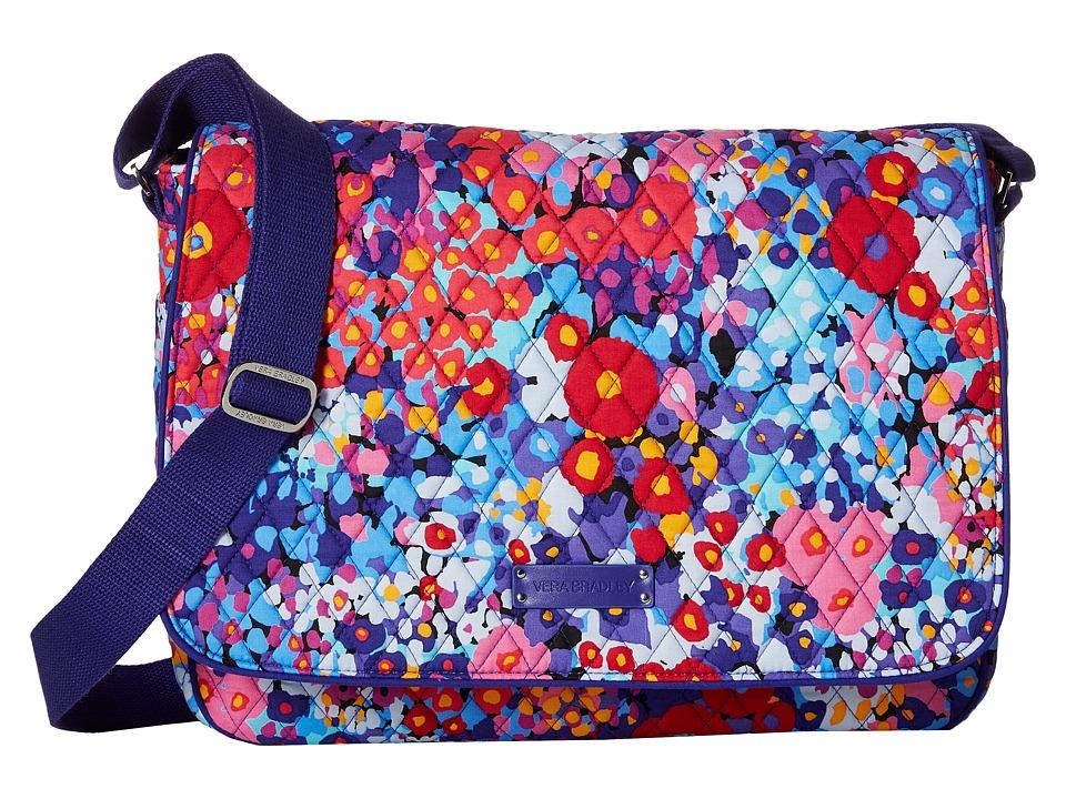 Vera Bradley - Laptop Messenger (Impressionista) Messenger Bags