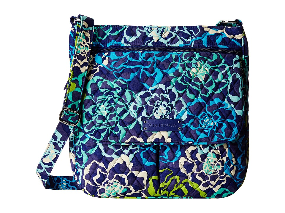 Vera Bradley - Double Zip Mailbag (Katalina Blues) Cross Body Handbags