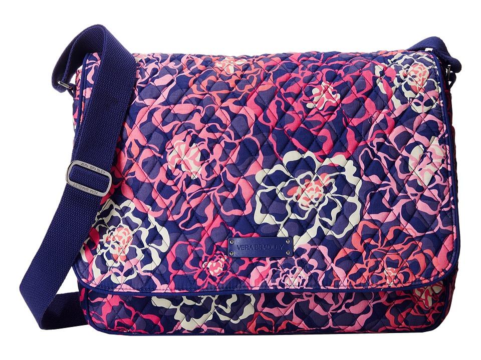 Vera Bradley - Laptop Messenger (Katalina Pink) Messenger Bags