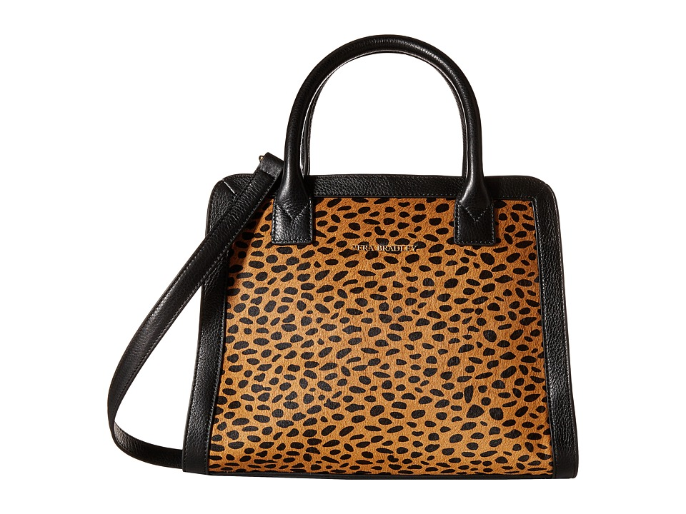 Vera Bradley - Natalie Satchel (Cheetah) Satchel Handbags