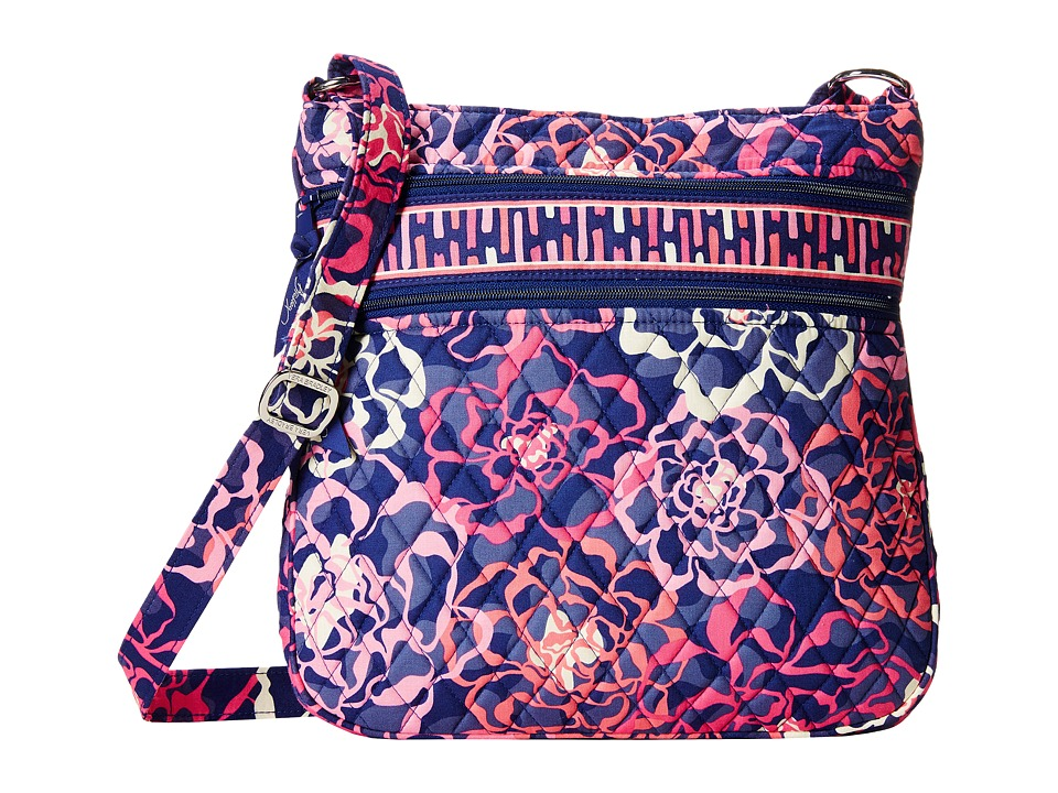 Vera Bradley - Triple Zip Hipster (Katalina Pink) Cross Body Handbags