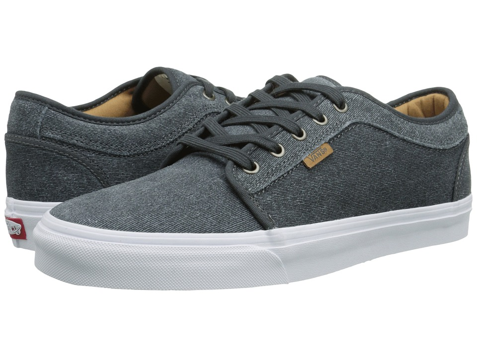 Vans - Chukka Low (Dark Shadow Textured Suede) Men's Skate Shoes