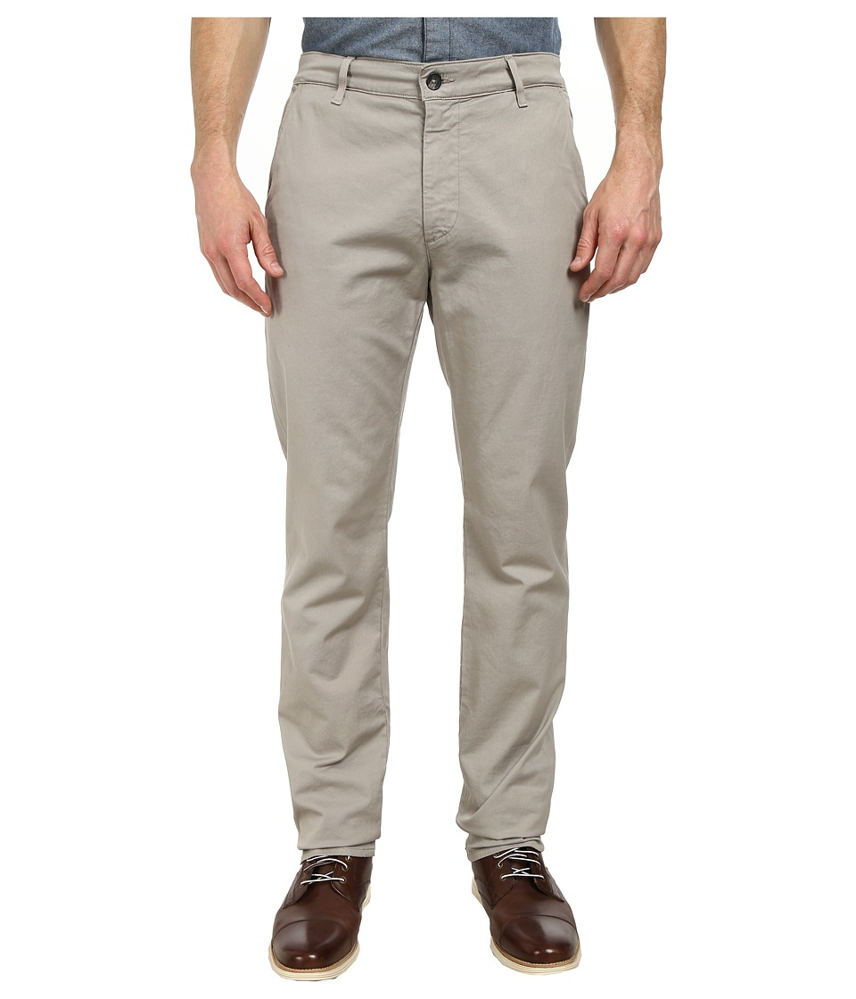 AG Adriano Goldschmied - The Slim Khaki Pants in Ground Grey (Ground Grey) Men's Casual Pants
