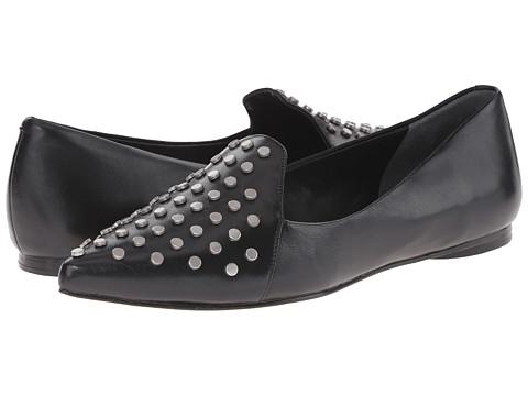 Belle by Sigerson Morrison - Vae (Black Leather) Women's Flat Shoes