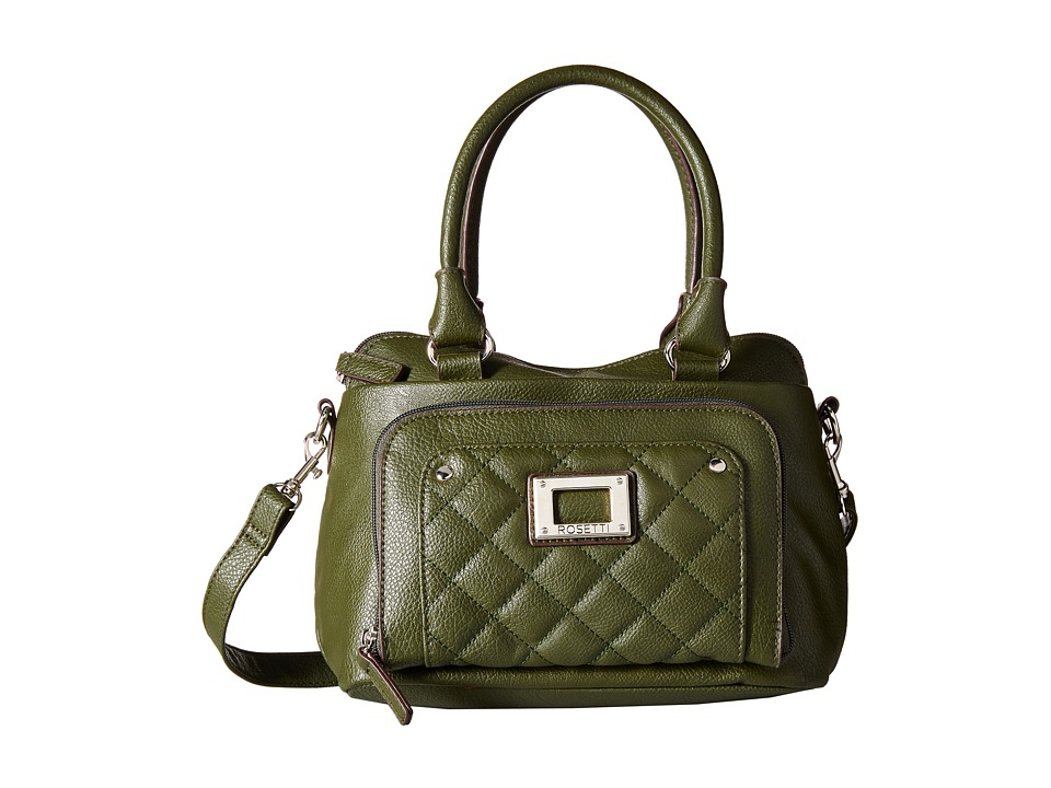 Rosetti - Ivana Quilted Satchel (Rosemary) Satchel Handbags