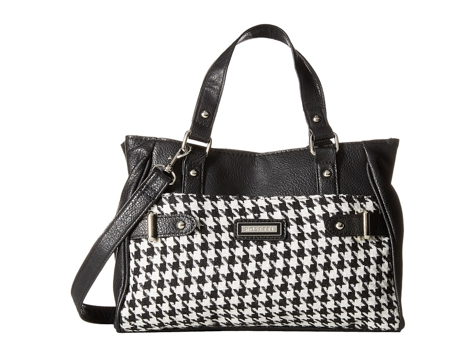 Rosetti - Darcy Satchel (Gridlock Print) Satchel Handbags