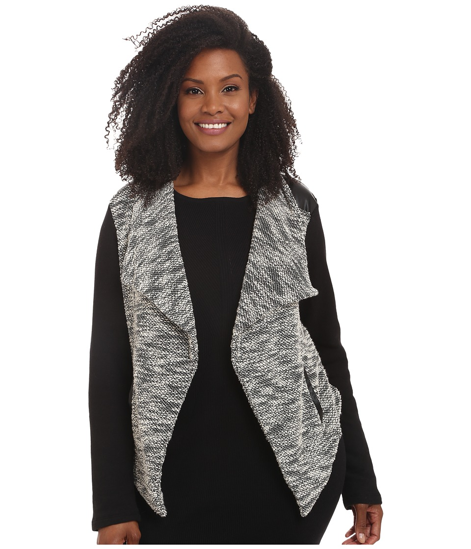BB Dakota - Plus Size Gertsen (Black) Women's Jacket