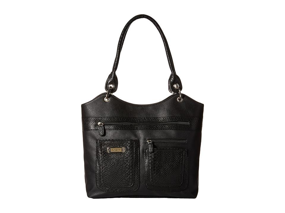 Rosetti - Dorothy Four Poster w/ Snake (Black) Handbags