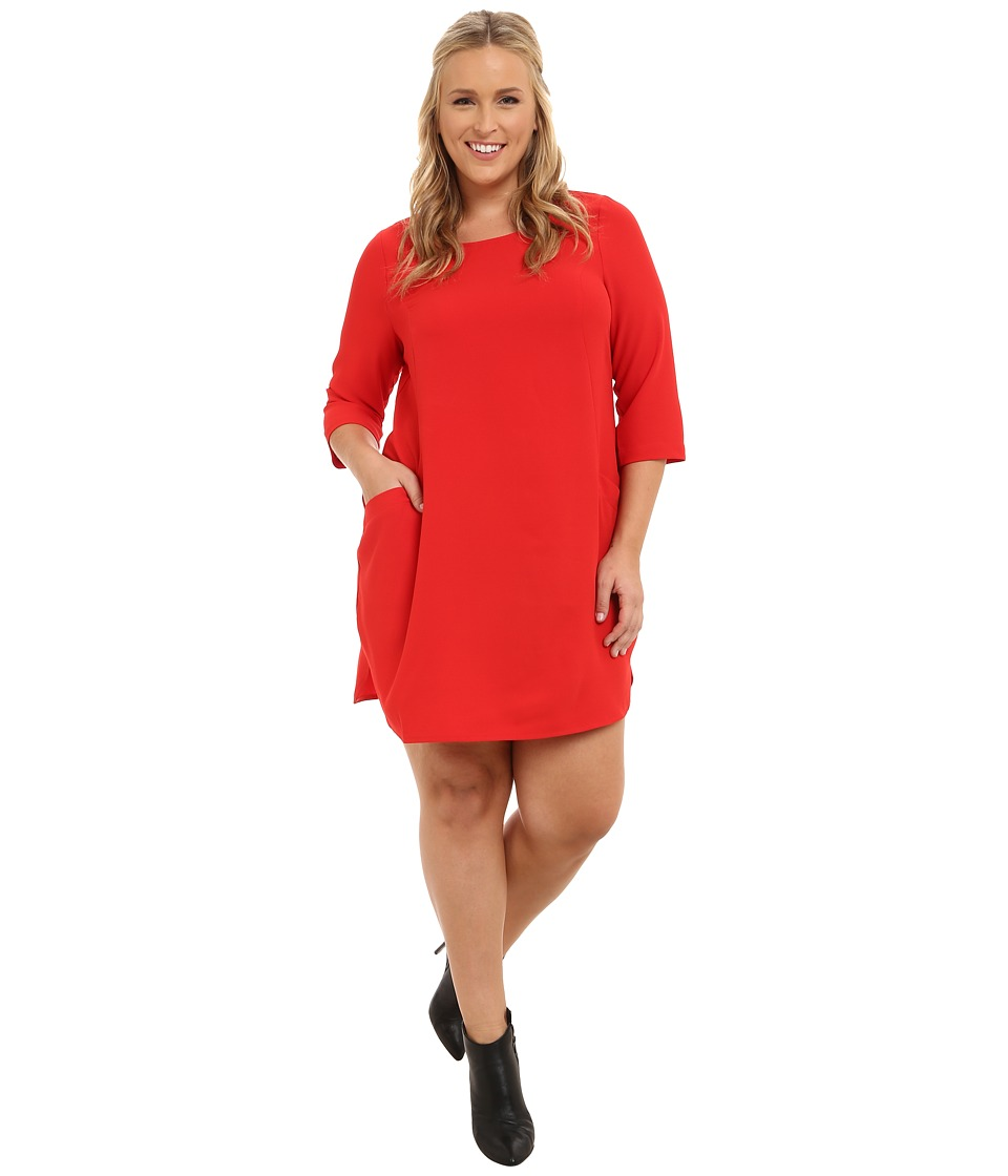 BB Dakota - Plus Size Nhi (Flame Scarlet) Women