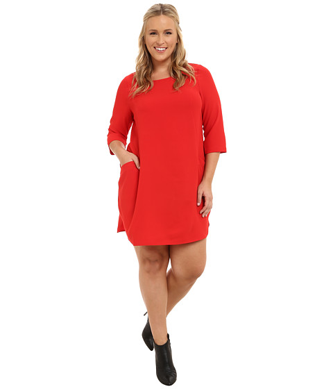 BB Dakota - Plus Size Nhi (Flame Scarlet) Women