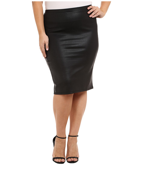 BB Dakota - Plus Size Aurora (Black) Women's Skirt