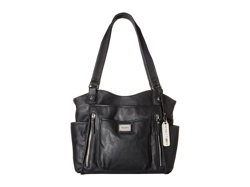 Rosetti - Serial Shopper Four Poster (Black) Handbags