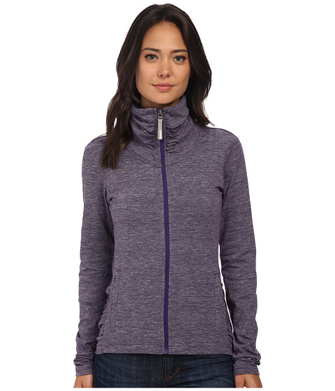 Bench - Nolie B Zip Thru (Parachute Purple Marl) Women's Clothing