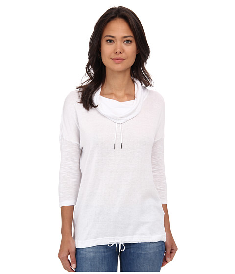Bench - Drawrin Short Sleeve Top (Bright White) Women's Short Sleeve Pullover