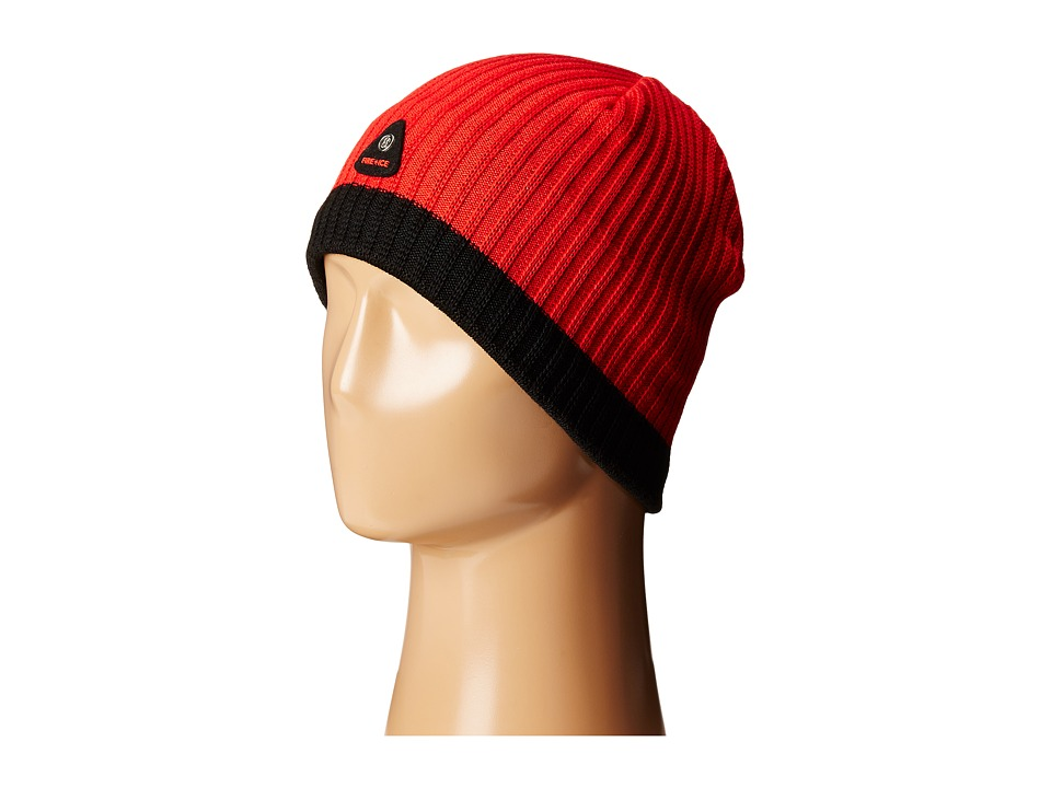 Bogner Fire + Ice - Helm (Fire Red/Black) Beanies