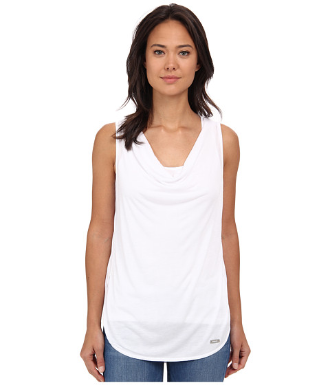 Bench - Tranquilize Top (Bright White) Women's Sleeveless