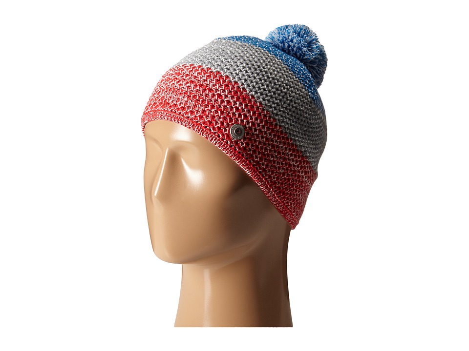 Bogner Fire + Ice - Amaja (Fire Red/White/Arctic Blue) Beanies
