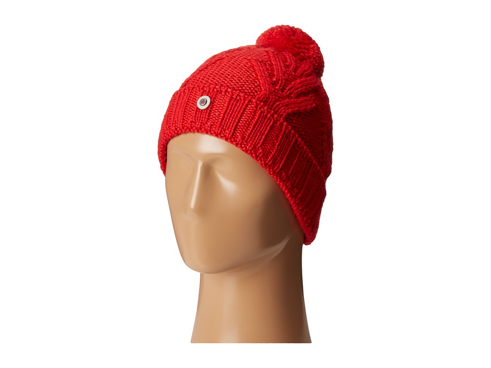 Bogner Fire + Ice - Fontus (Fire Red) Beanies