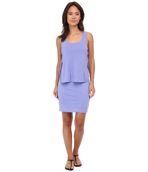 Bench - Flashed Dress (Deep Periwinkle) Women
