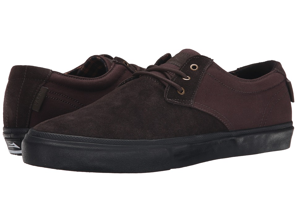 Lakai - M.J. (Brown/Black Suede) Men